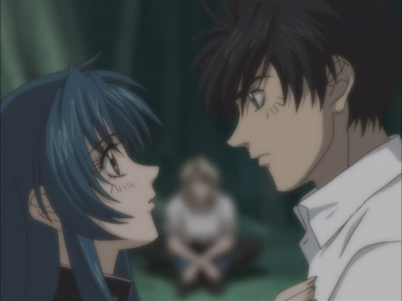Full Metal Panic romance couple