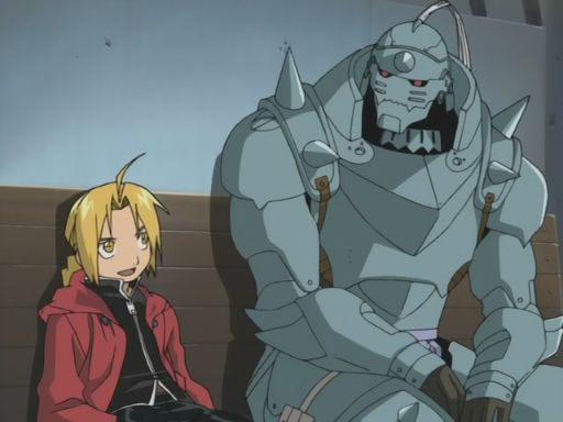 Fullmetal Alchemist edward and alphonse brothers