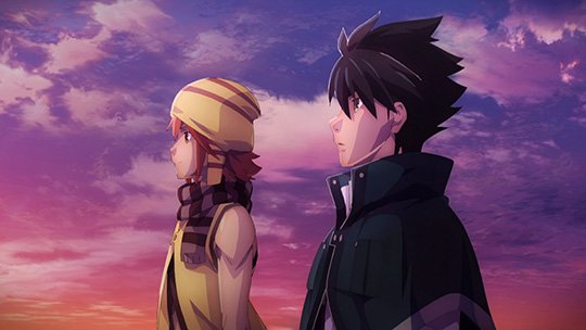 God Eater anime characters lost in thought