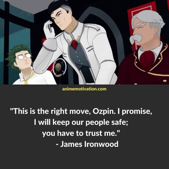 James Ironwood RWBY quotes 1