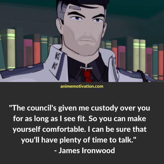 James Ironwood RWBY quotes 4