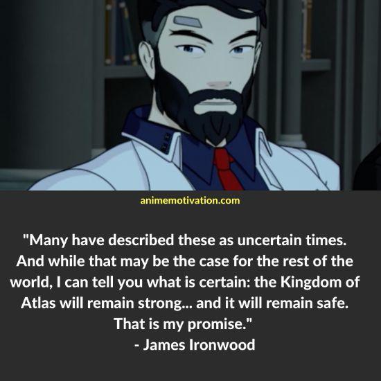 James Ironwood RWBY quotes 5