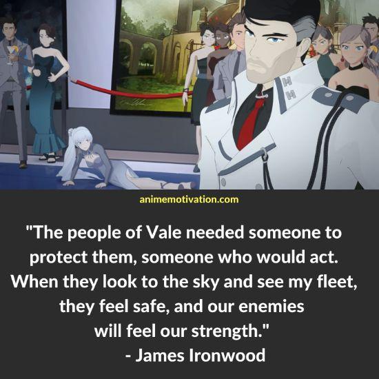 James Ironwood RWBY quotes 6
