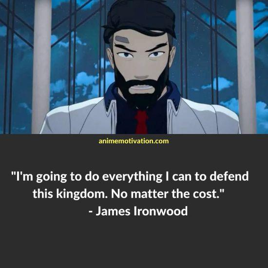 James Ironwood RWBY quotes