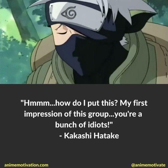 Kakashi Hatake Quotes Naruto 12