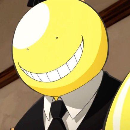 Koro Sensei round head