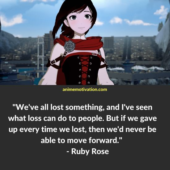 Ruby Rose RWBY quotes