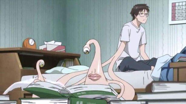 Shinichi Befriends Migi