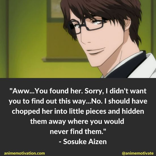 Sosuke Aizen Quotes Bleach 10