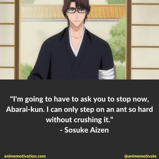 Sosuke Aizen Quotes Bleach 11