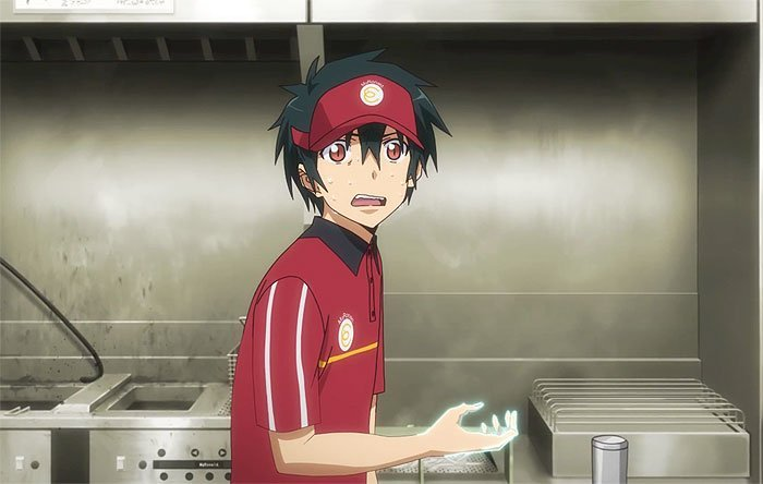 The Devil Is A Part Timer sadao mao satan job