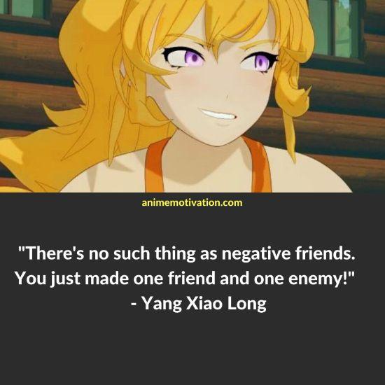 Yang Xiao Long RWBY quotes 11