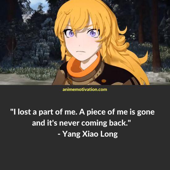 Yang Xiao Long RWBY quotes 12