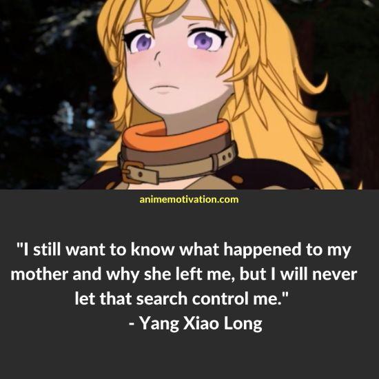 Yang Xiao Long RWBY quotes