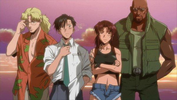 black lagoon squad main characters
