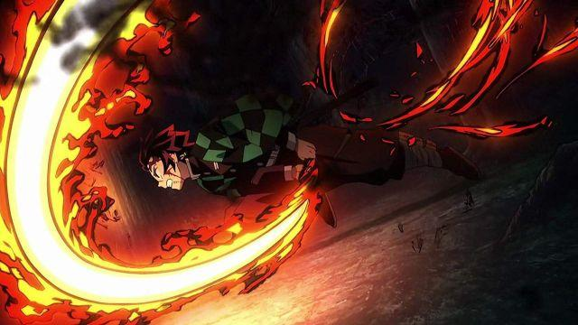demon slayer best animation scene