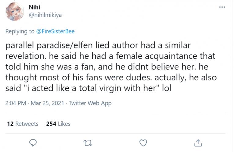 elfen lied similar audience redo of healer tweet