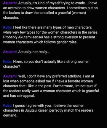jujutsu kaisen tite kubo twitter interview
