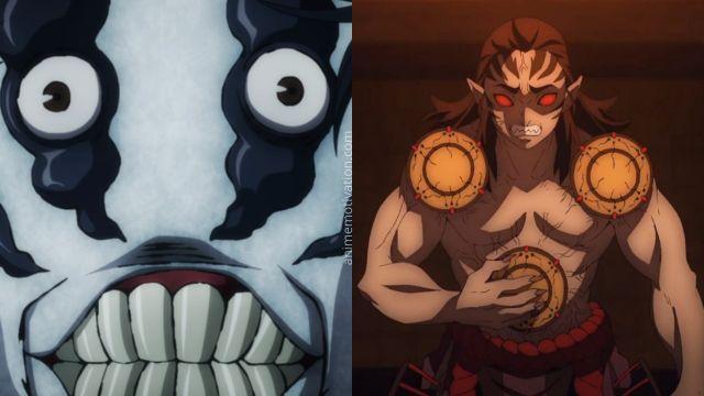 jujutsu kaisen vs demon slayer curses demons