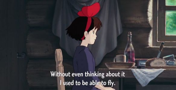 kiki unable to fly anime