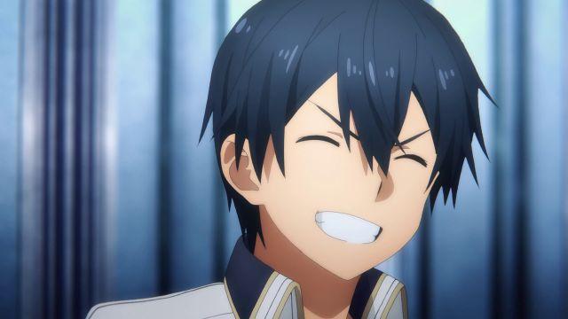 kirito sao big smile