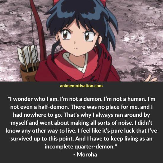 moroha yashahime quotes 1