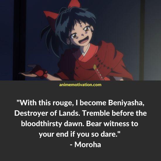 moroha yashahime quotes 5