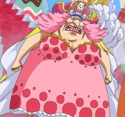 Big Mom One Piece pink outfit