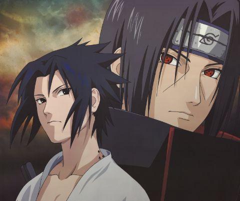 Itachi and Sasuke from Naruto 2