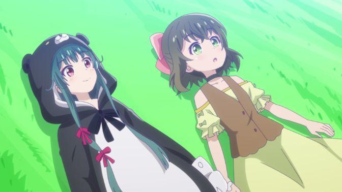 fina and yuna anime