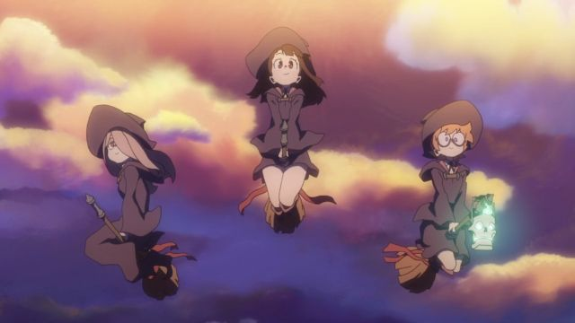 Little Witch Academia witches