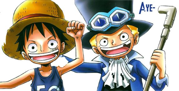 Luffy and Sabo from One Piece 2