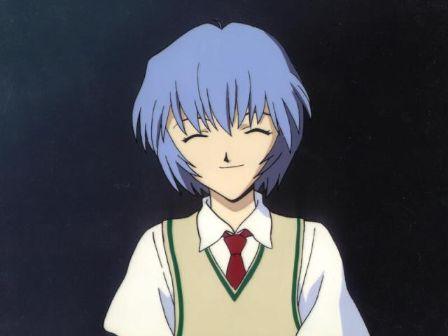 Rei Ayanami smile