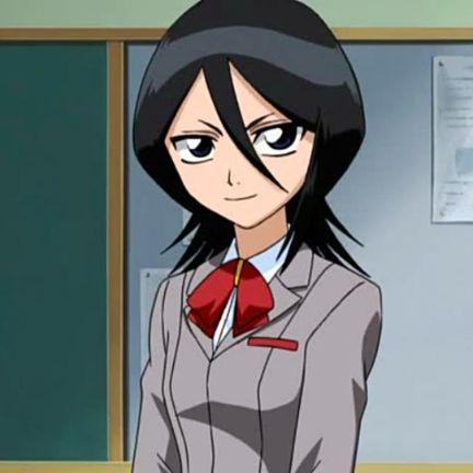 Rukia Kuchiki school uniform