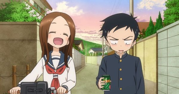 cute couple in anime