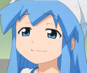 Squid Girl perfect smug