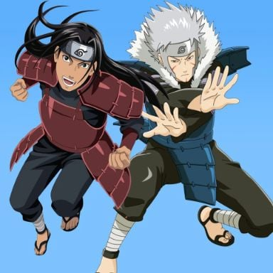 Tobirama and Hashirama from Naruto