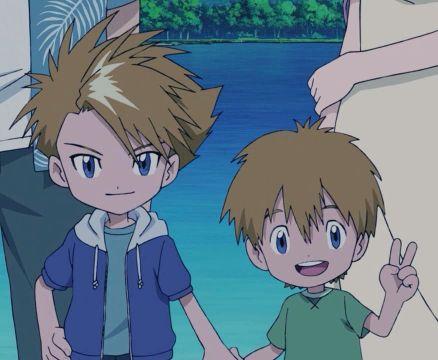 Yamato Matt Ishida and T.K From Digimon 1