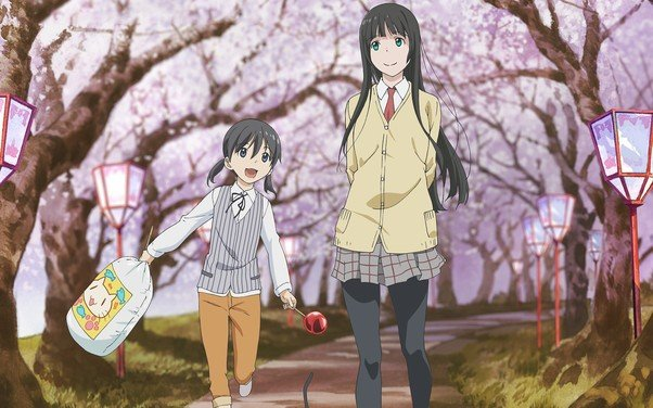 flying witch cousins anime