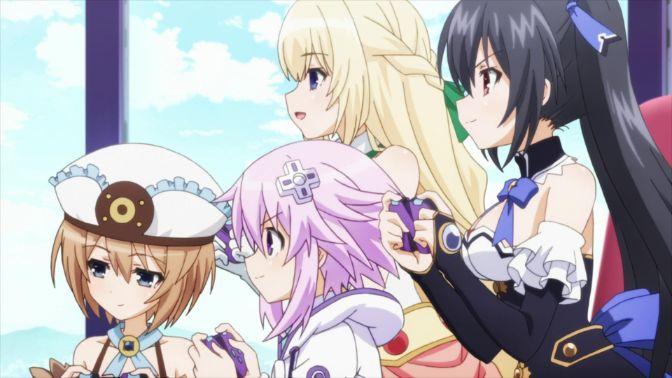 hyperdimension neptunia squad anime