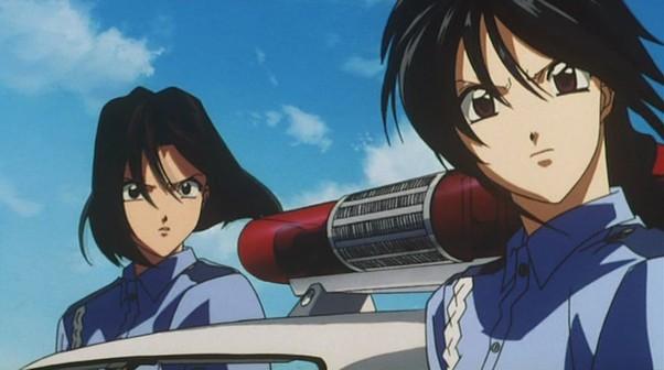 natsumi and miyuki youre under arrest anime