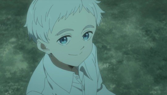 norman the promised neverland smile