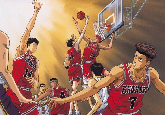 slam dunk basketball characters
