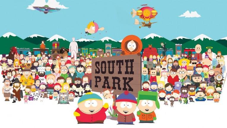 anime like south park
