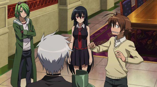 Akame Ga Kill episode 02 funny moments