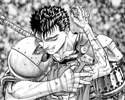 Berserk manga guts