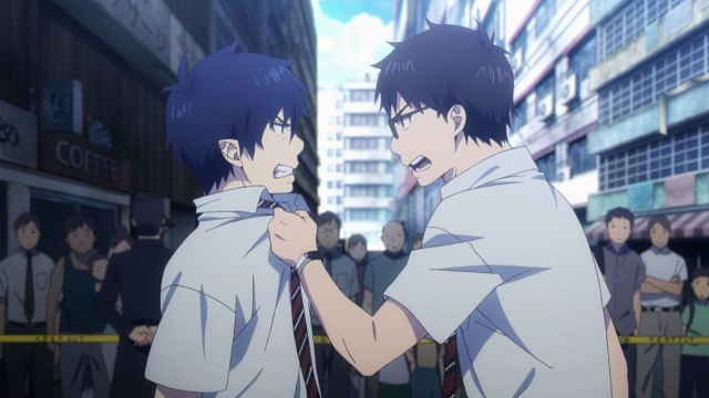 Blue Exorcist brothers