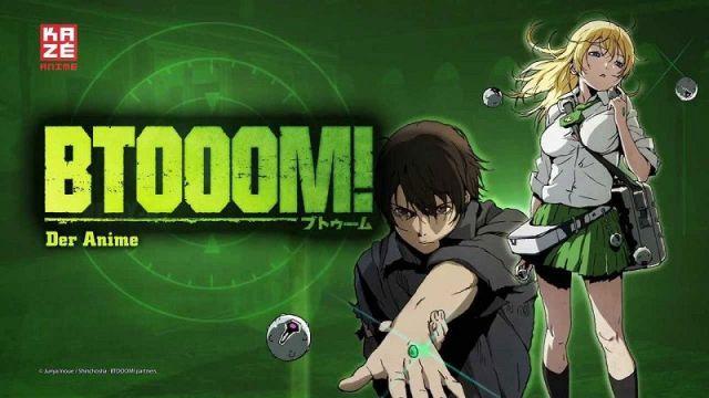 Btooom series cover