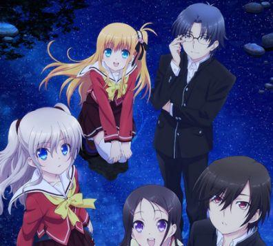 Charlotte anime characters