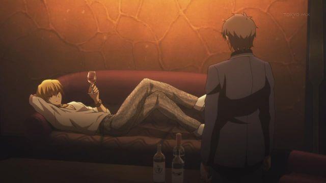 Fate Zero gilgamesh couch